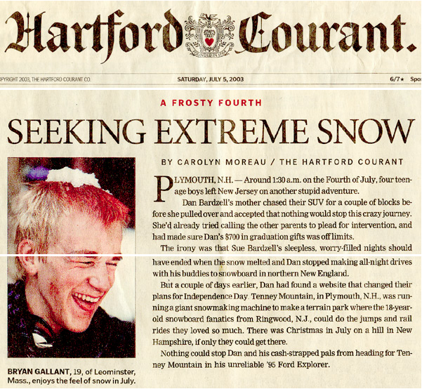 Hartford Courant - Snow Magic